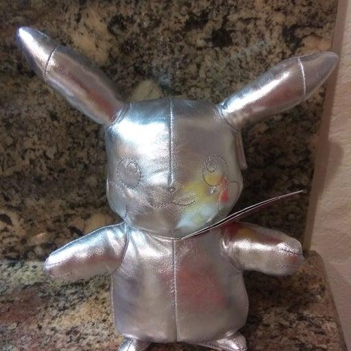 Pikachu plush Metallic 25 years