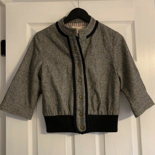 Anthropologie MADCHEN Bomber Wool Jacket