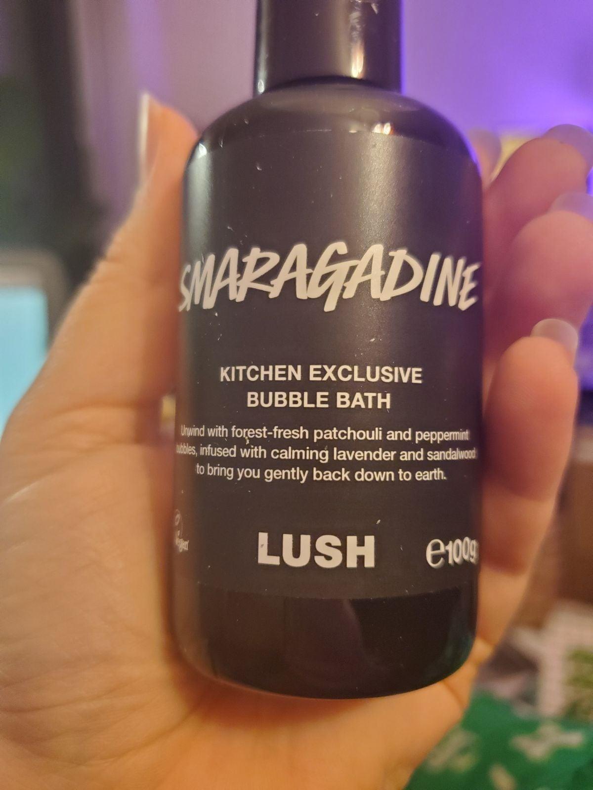 Lush Smaragadine Bubble Bath
