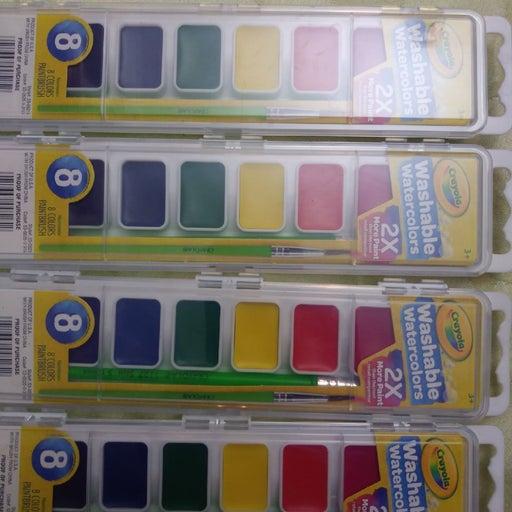 Crayola watercolors set of 4
