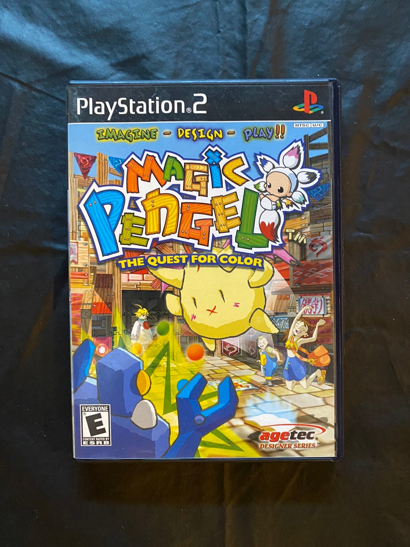 Magic Pengel The Quest for Color PS2