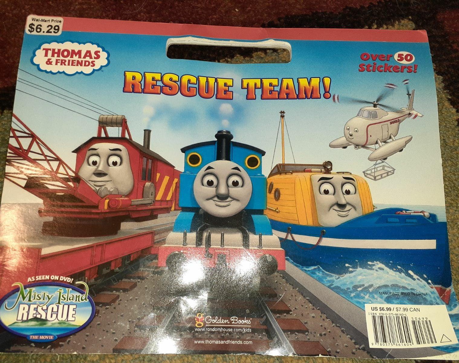 Thomas the train misty island book color