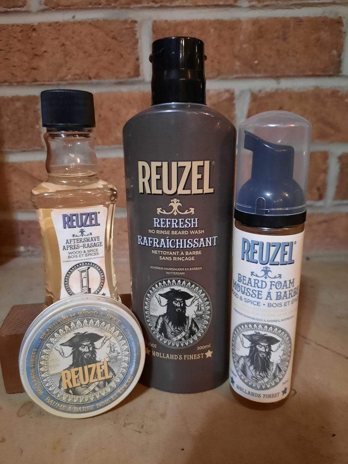 Reuzel Beard Care Set