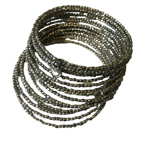 Stella & Dot Silver Slinky Bracelet