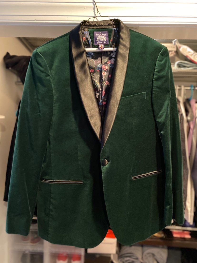 Savile Row Co. Velvet Blazer