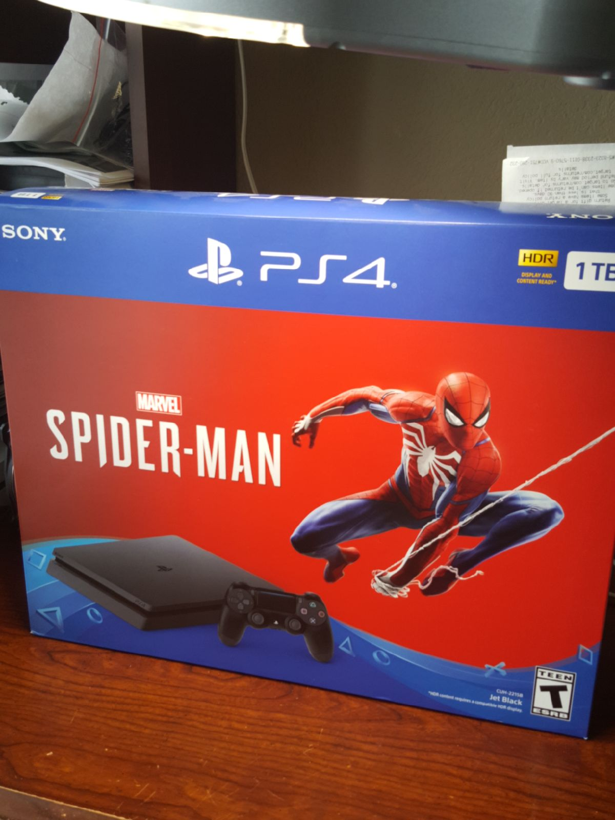 Playstation 4 spider-man bundle