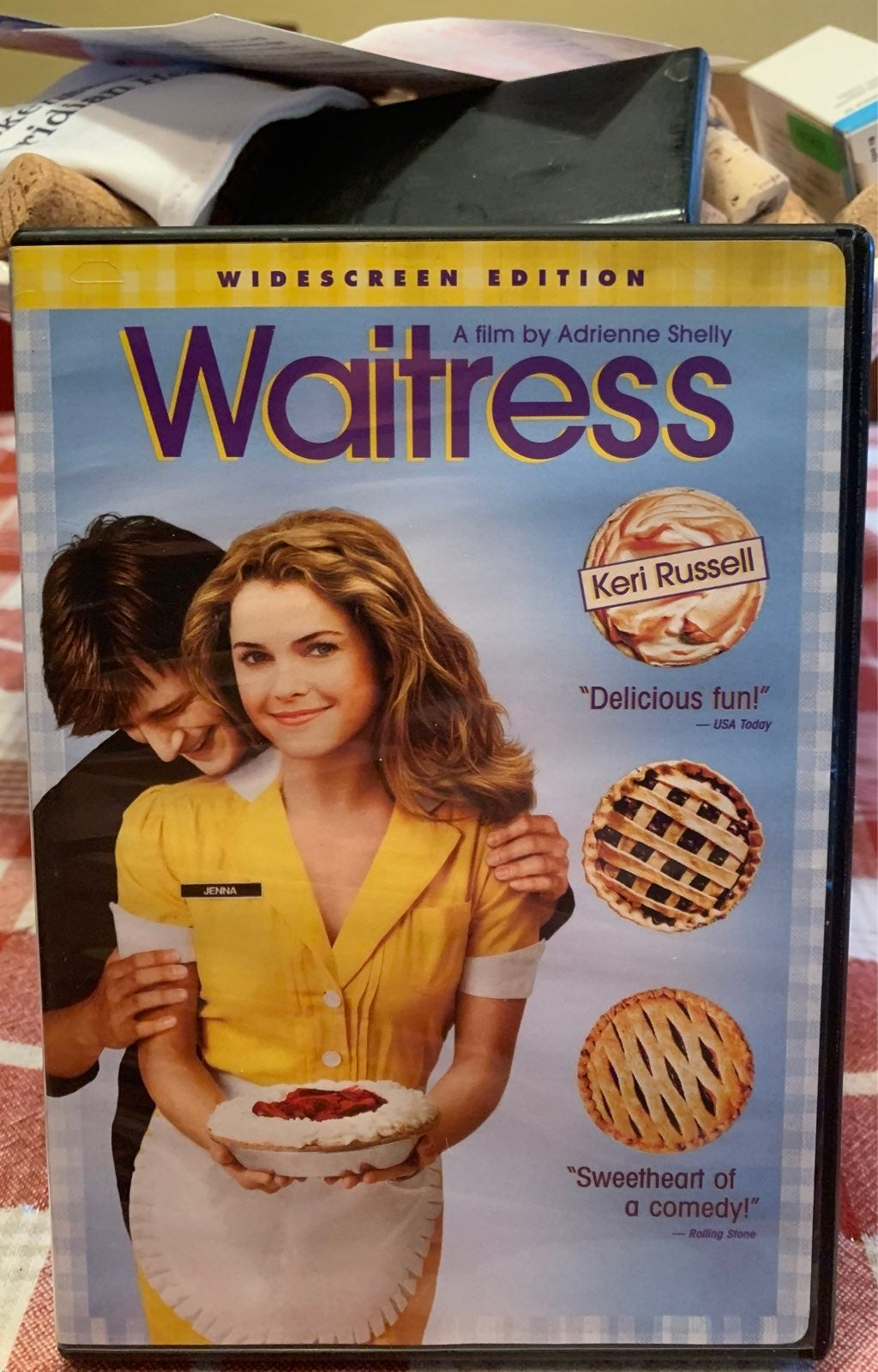 WAITRESS DVD COMEDY TESTED PLAYS PERFECT