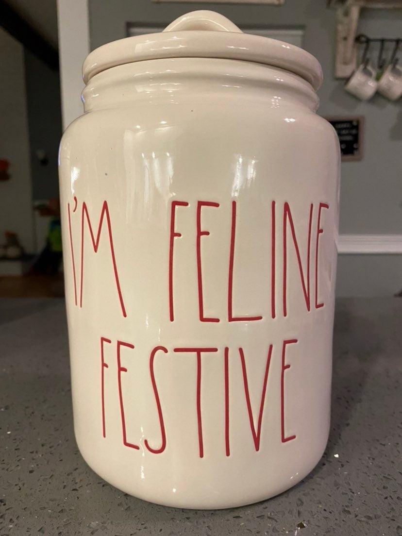 Rae Dunn Im feeling festive