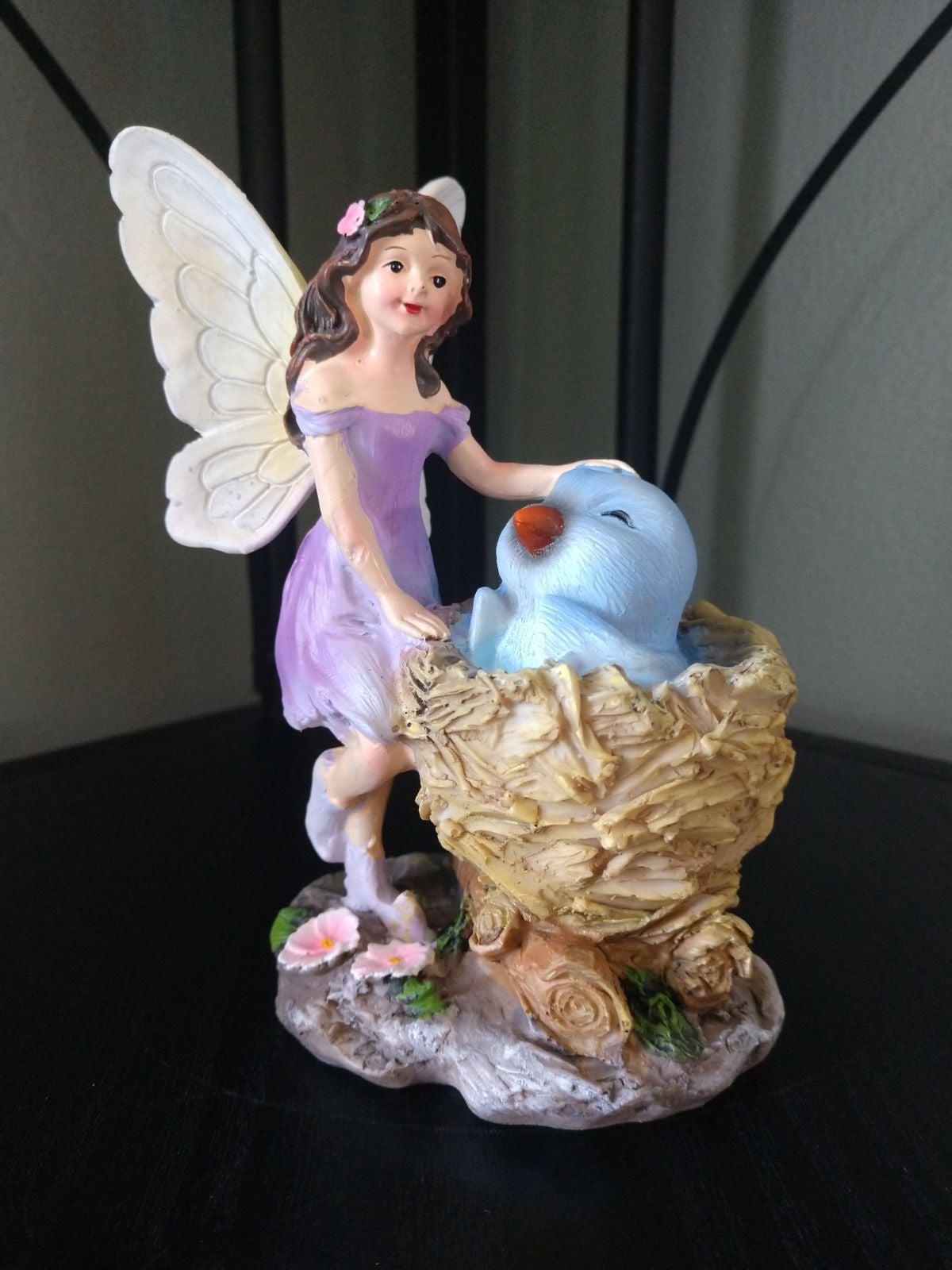 New Fairy With Birdnest