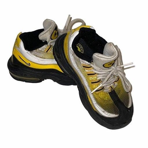 Nike Air Toddler Black Yellow Shoes