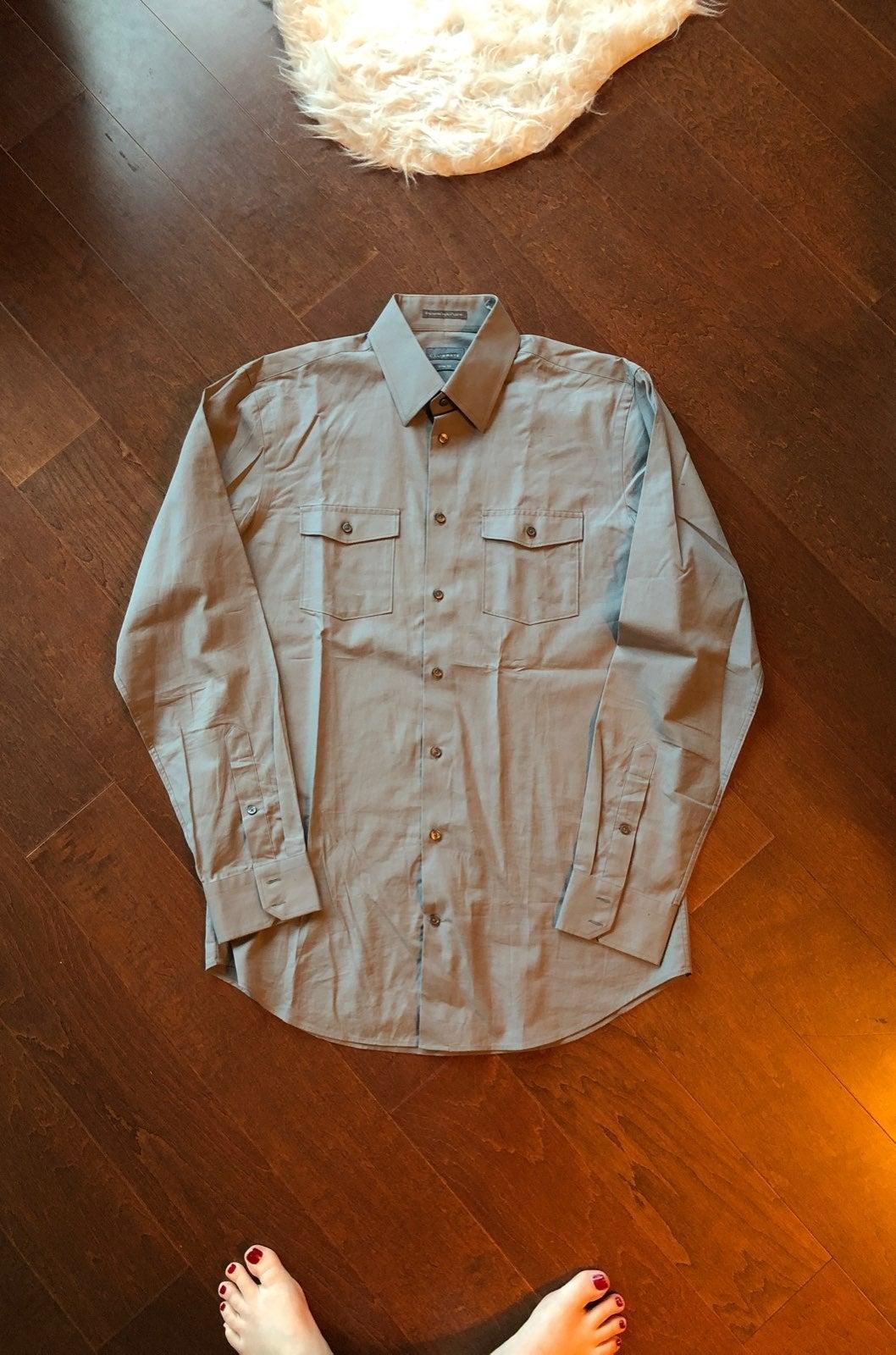 button down shirt men