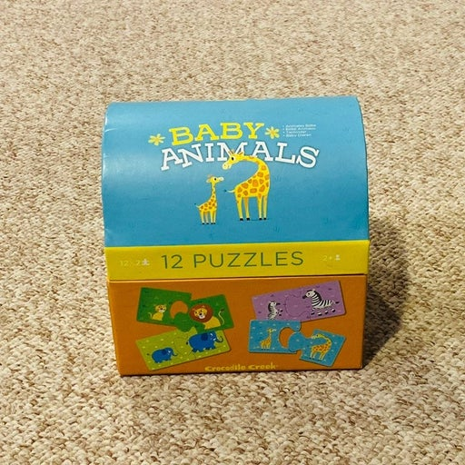 Baby's First Puzzles (11x2pc Animal)