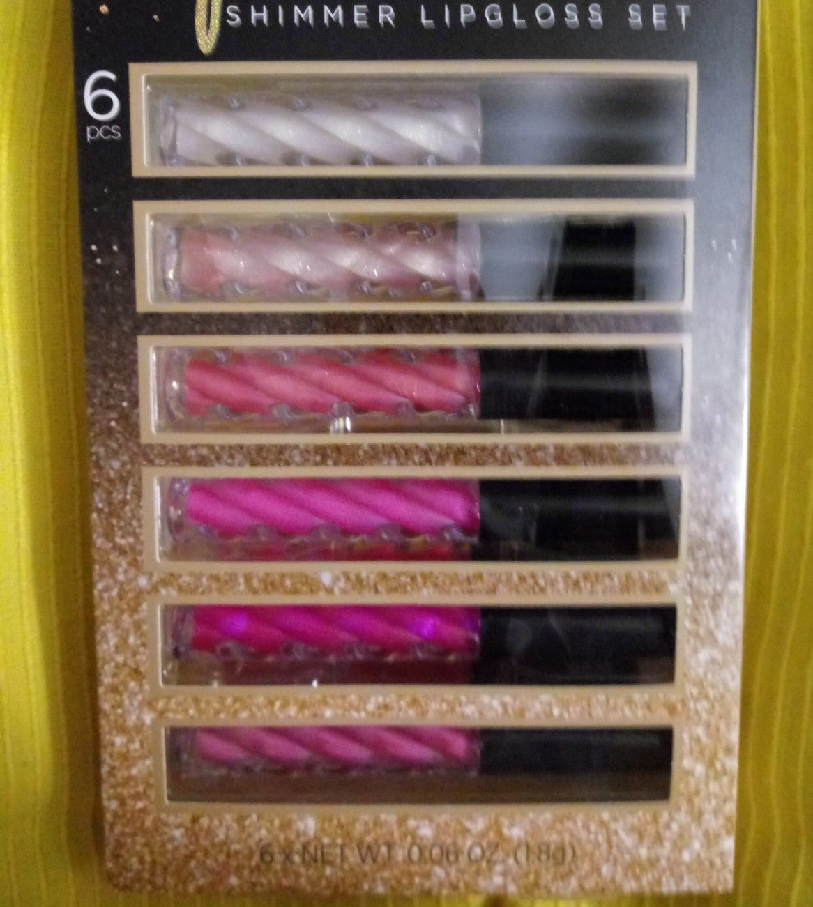 New,LA Colors shimmer lip gloss pack