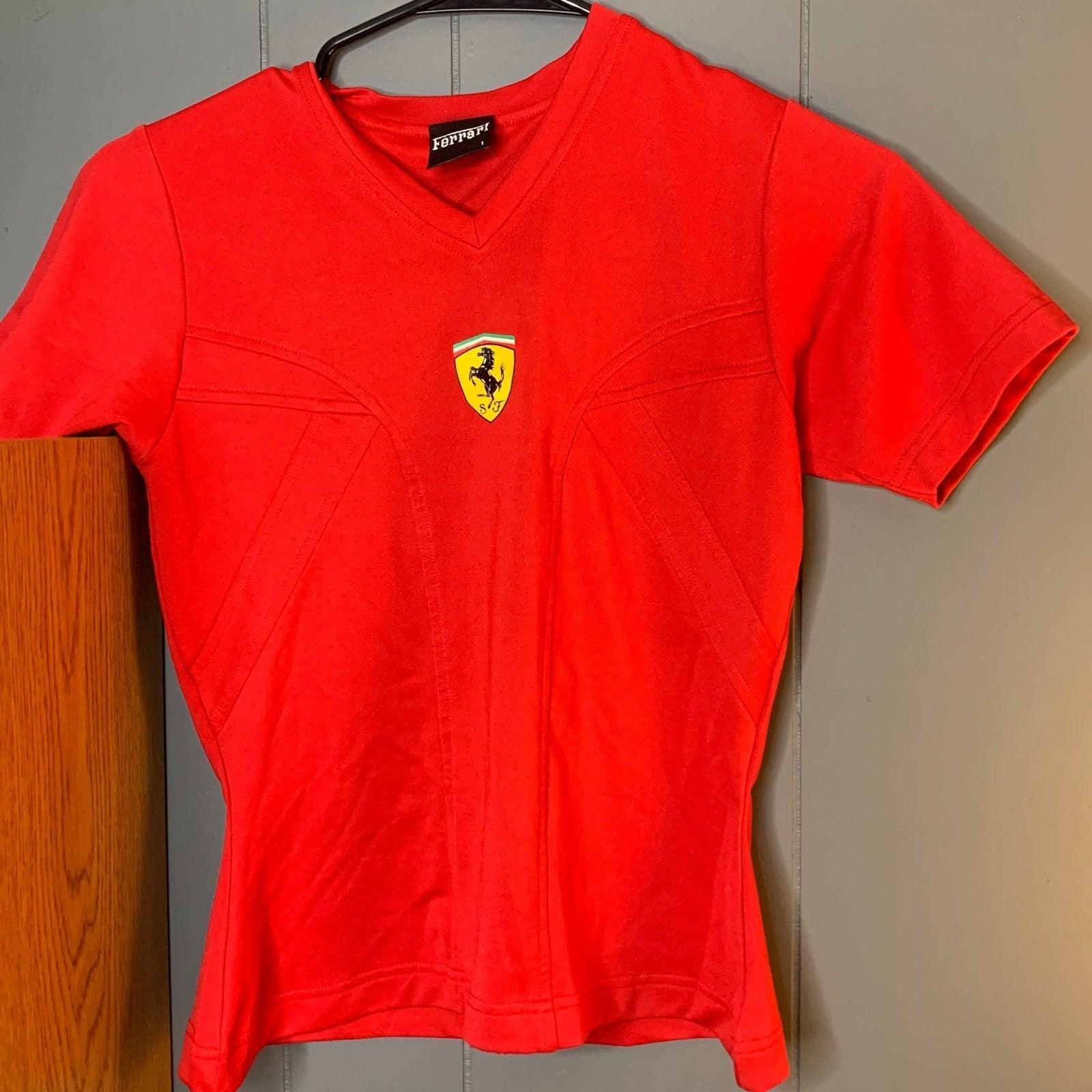 Size Small Women's Ferrari Sports Shirt