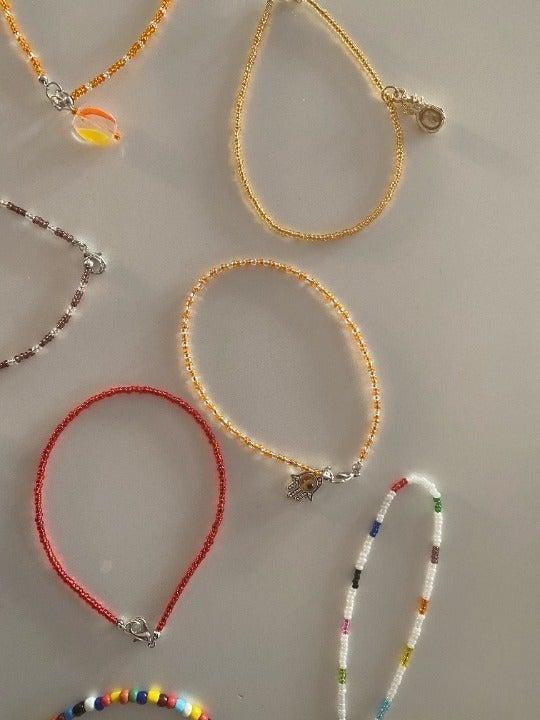 Custom Hand and Foot Bracelets