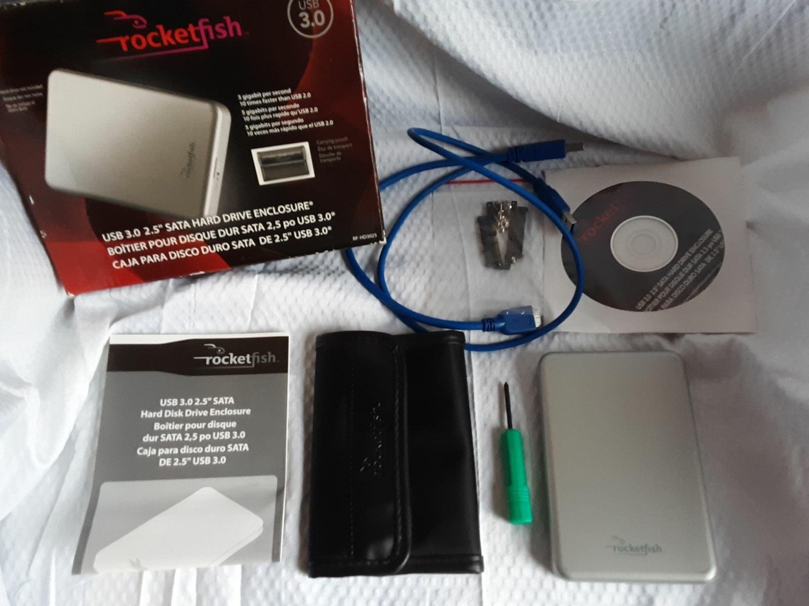 Rocketfish USB 3.0 2.5 SATA HD Enclosure