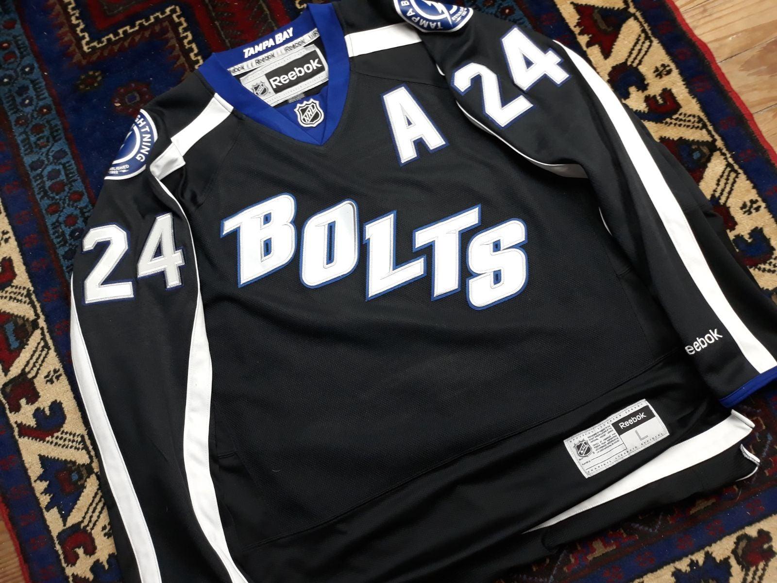 Tampa Bay Lightning Callahan Alt Jersey