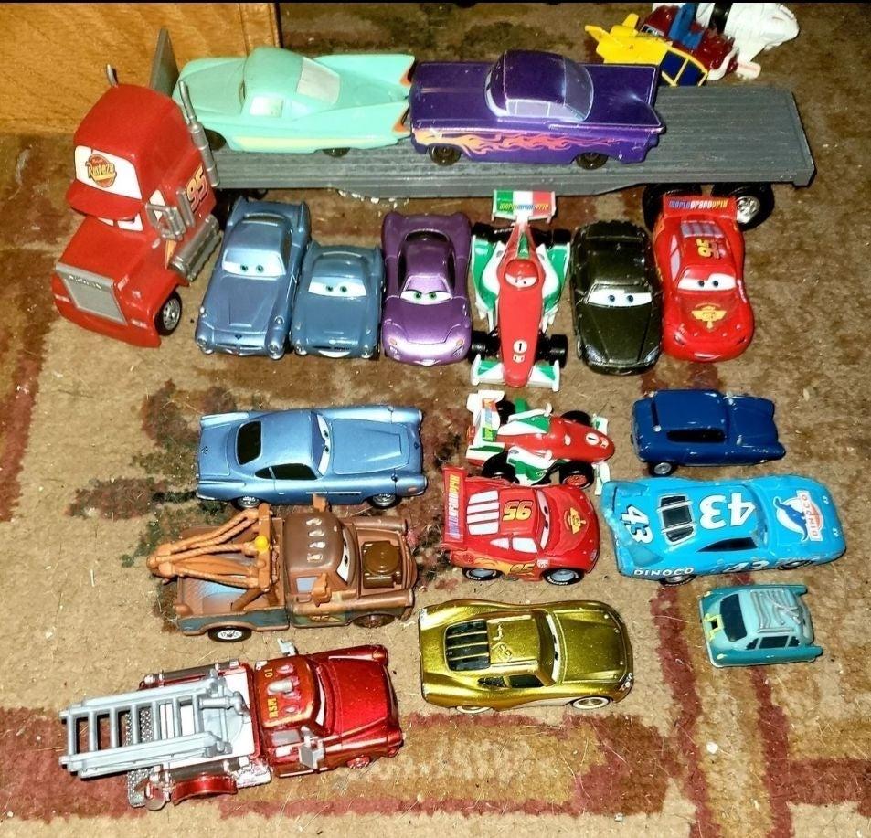 Disney Cars Semi & Cars