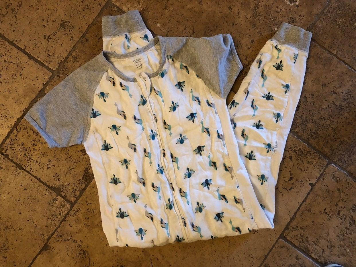 Nest Designs short sleeve sleepsuit 4t-6