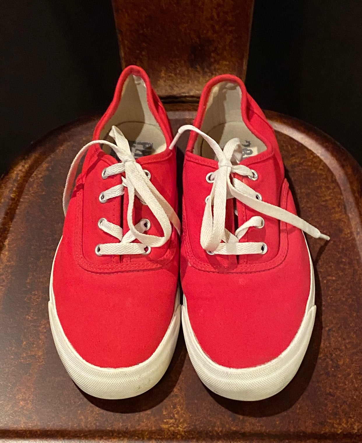 Pro Keds Red Canvas Shoes