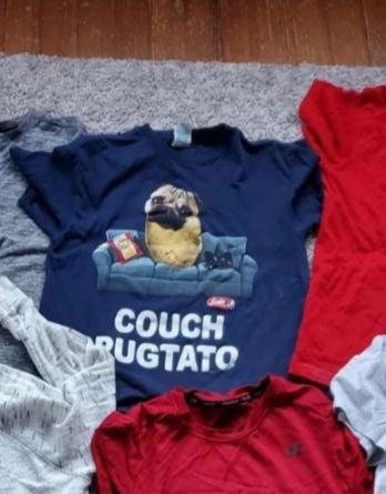 RESERVED 2 pug shirts