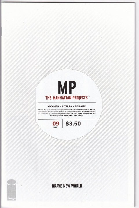 MANHATTAN PROJECTS #9 (2013) NM; IMAGE