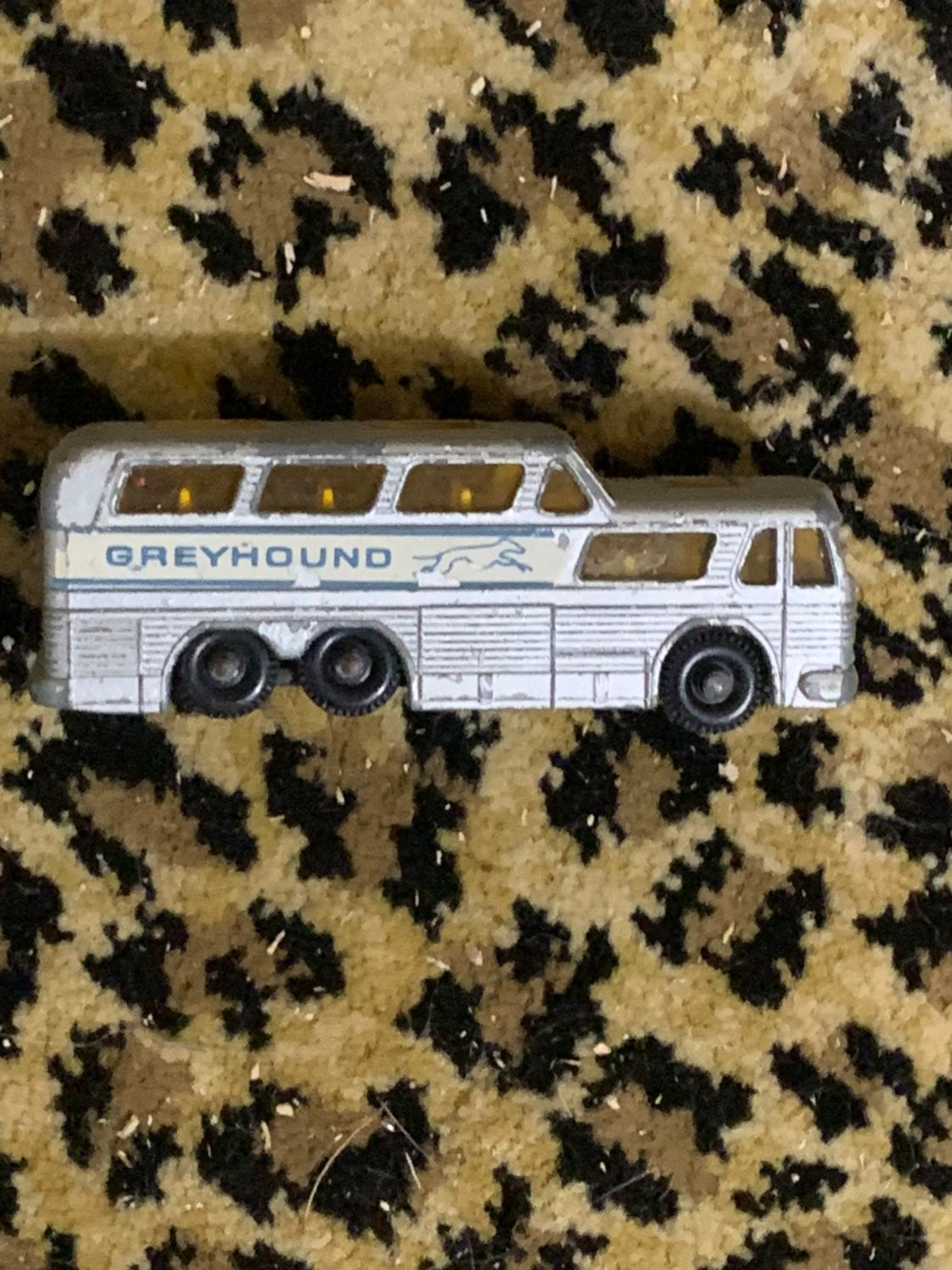 Matchbox grayhound