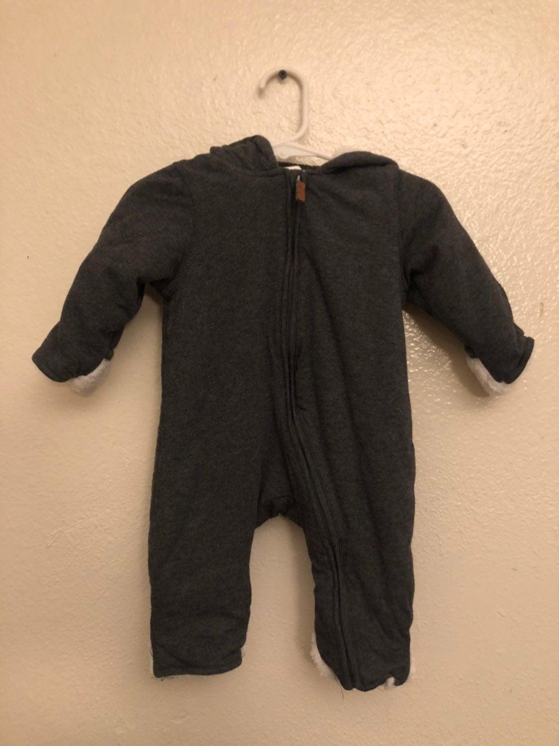 Baby boy H&M warm suit/ snow