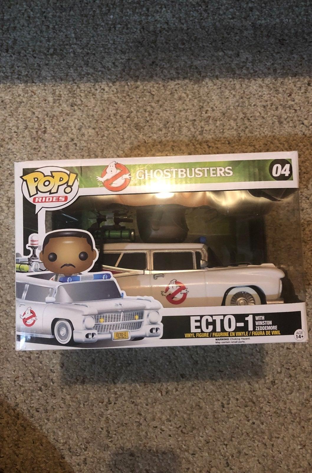 Funko Pop Ghostbusters Ecto-1 car