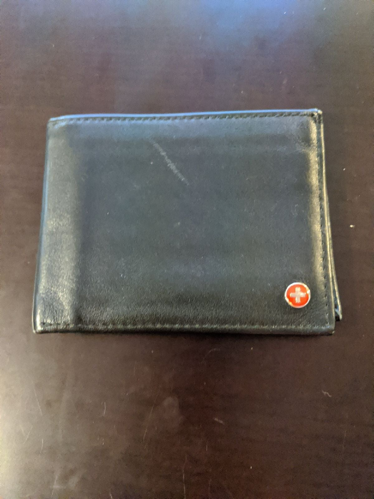 Alpine Swiss Leather Wallet