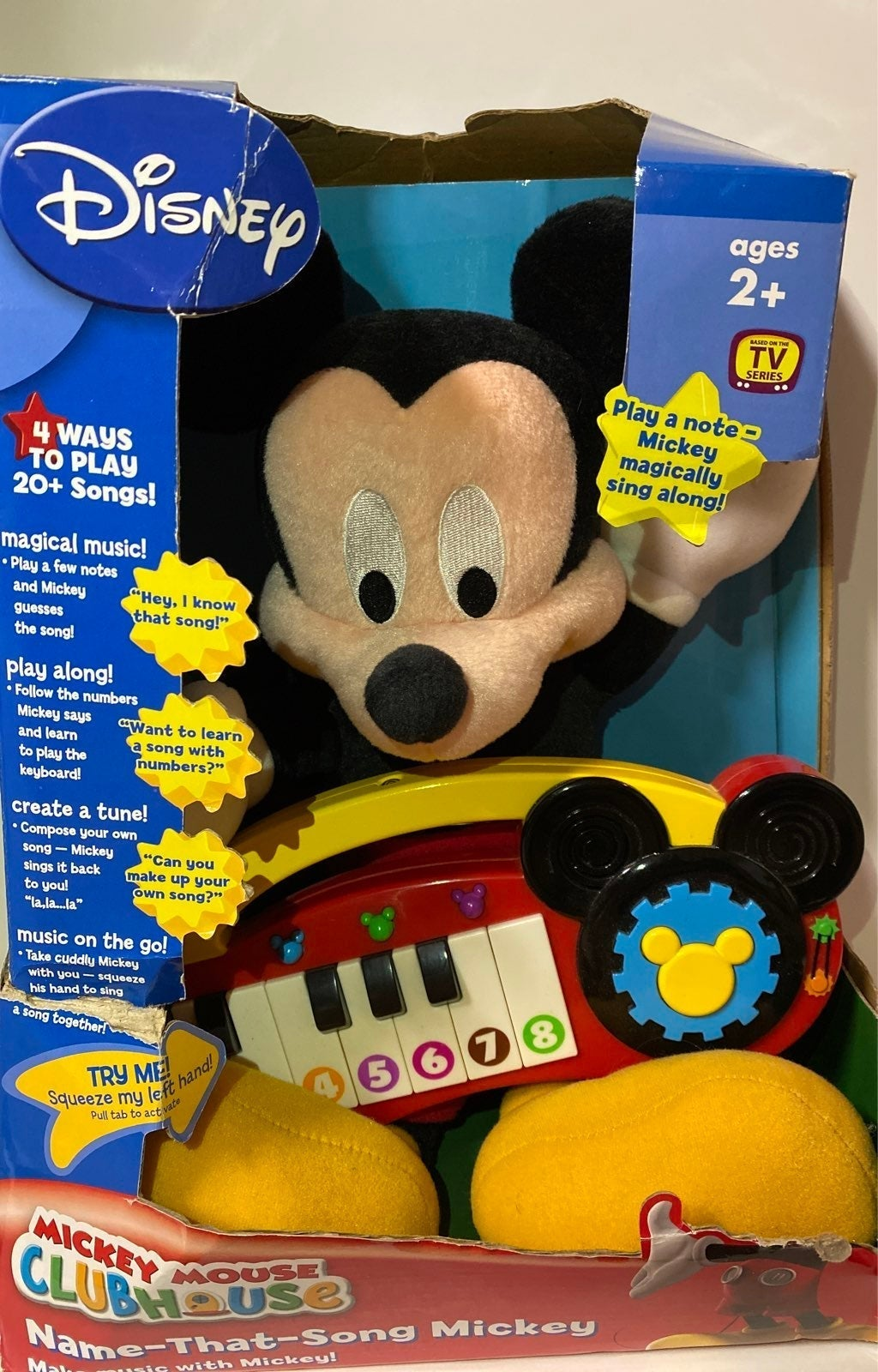 Mickey Mouse Clubhouse Name That Song NE