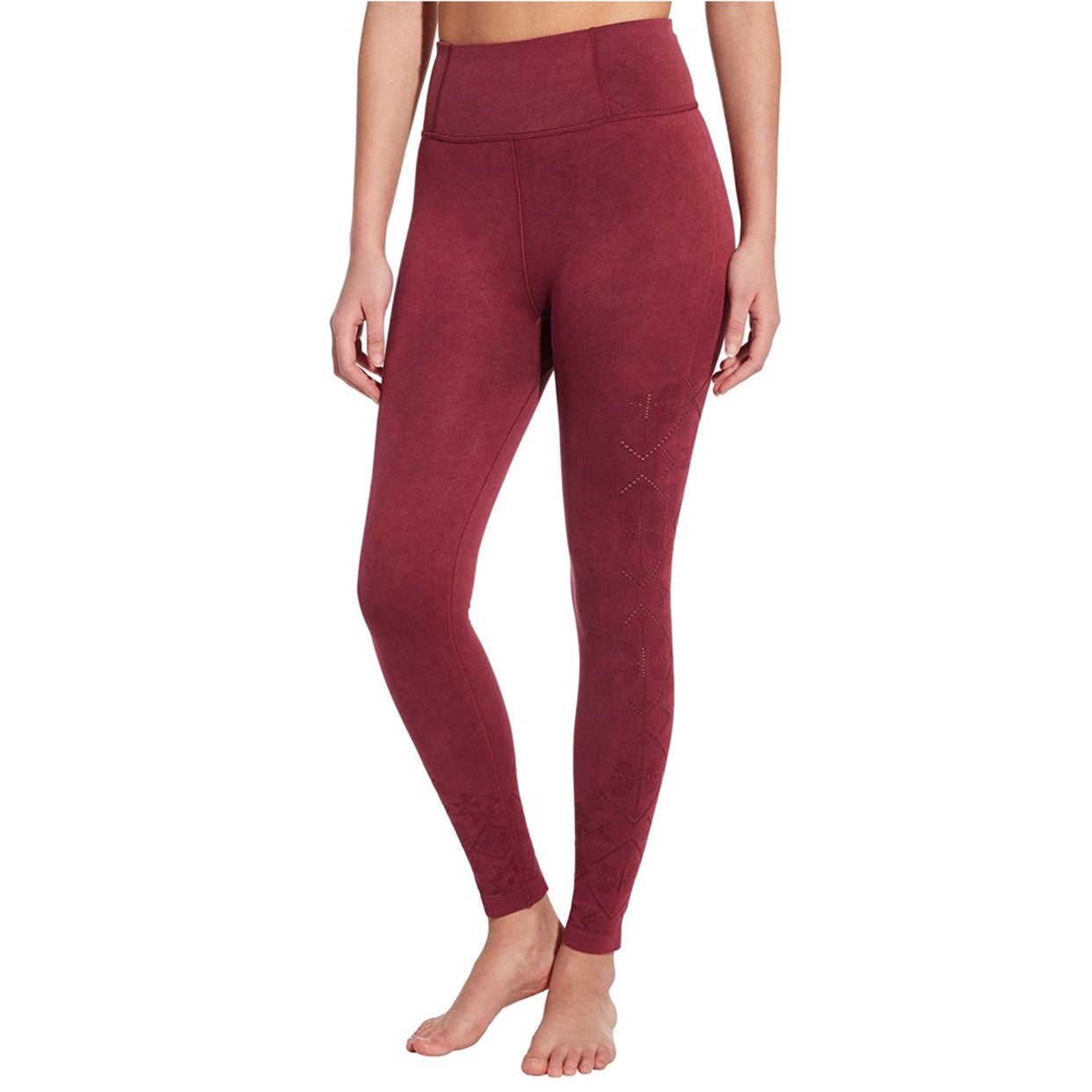 S CALIA Seamless High Rise Leggings Red