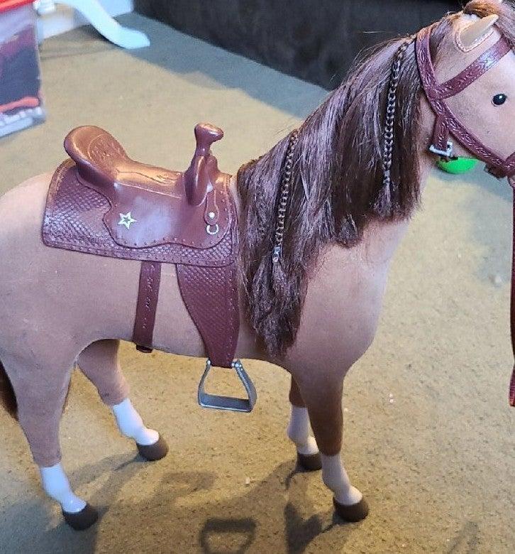 American Girl Doll Chestnut Horse
