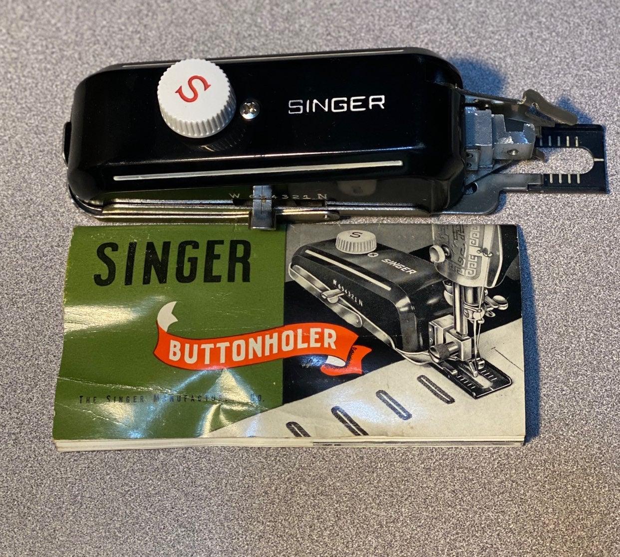 Singer Buttonholer for Vintage Machines