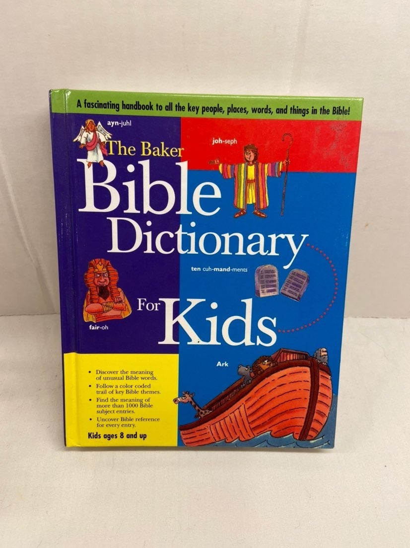 The Baker Bible dictionary for kids hard