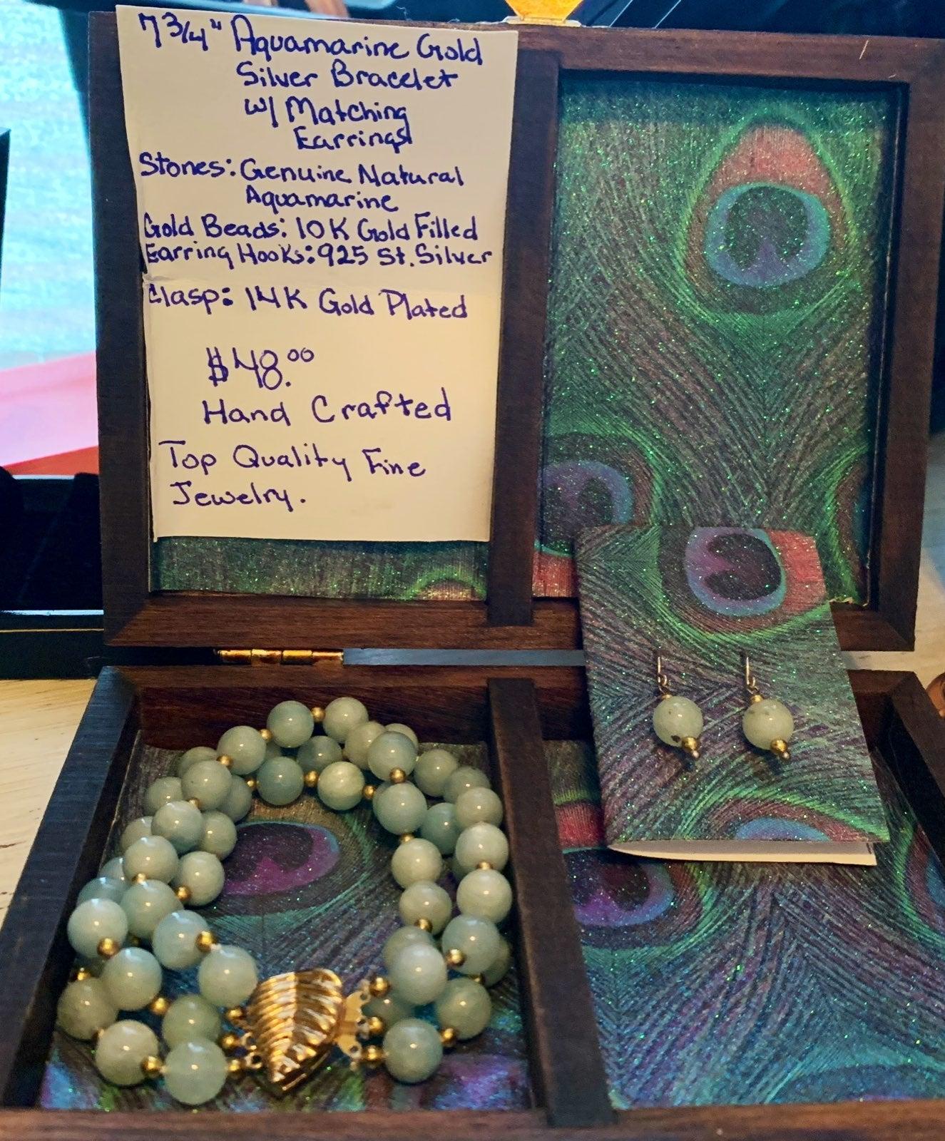 Bracelet earring set