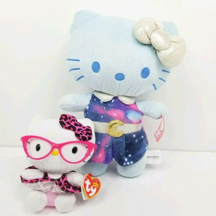 Sanrio Hello Kitty Plush Toy Blue Galaxy