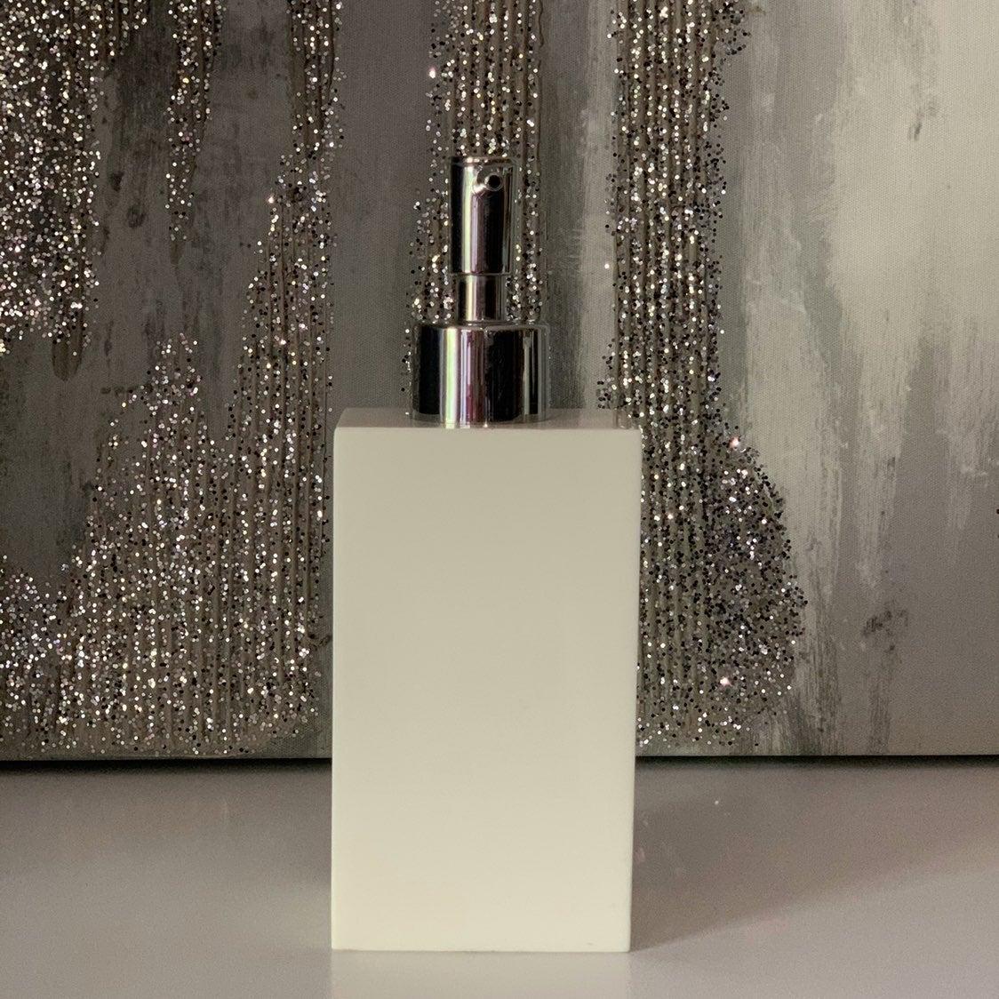HOME DECOR White Modern Soap Dispenser