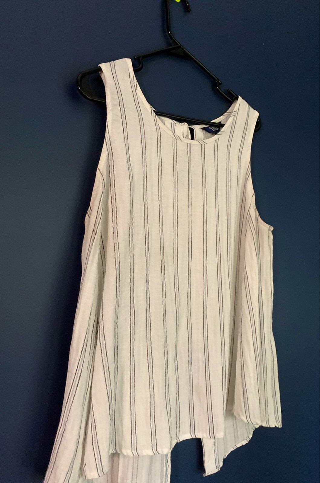 Tank Top Blouse with peek-a-boo back