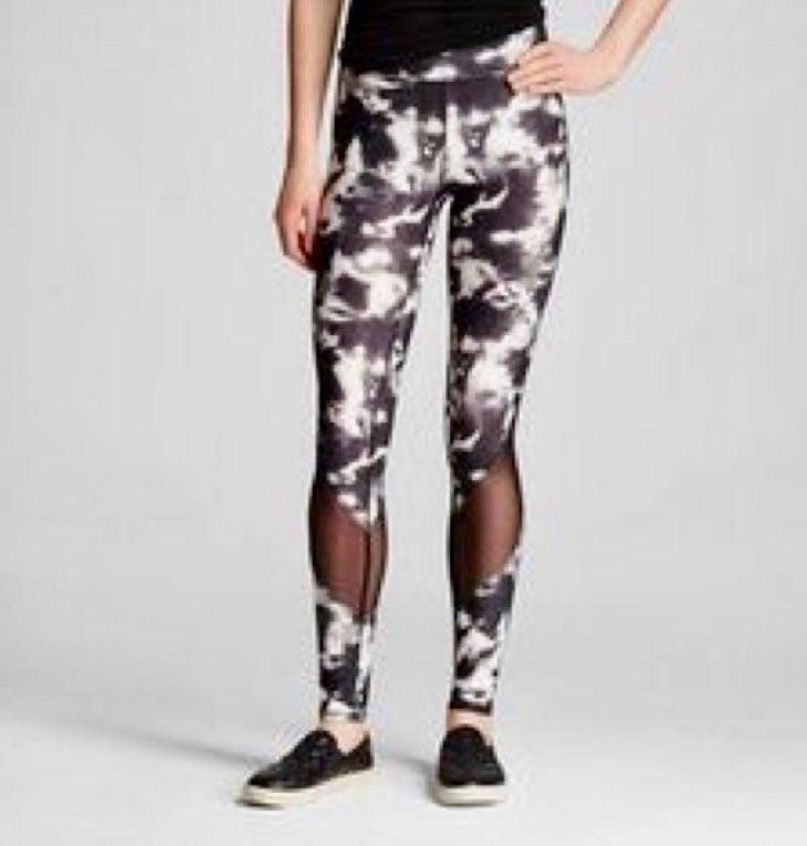Mossimo Black/White Marble Leggings