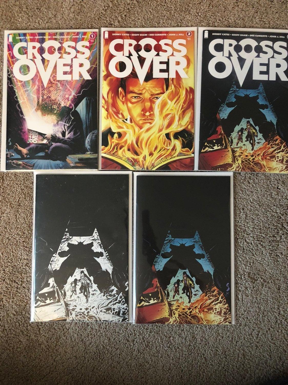 Crossover 1-3 Comics 5 Book Lot