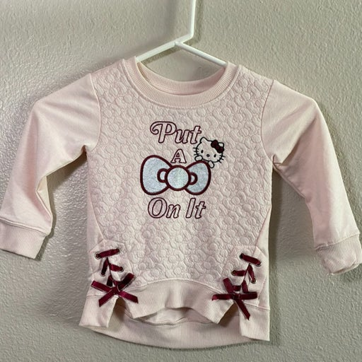 Hello Kitty long sleeve top Toddler 2T