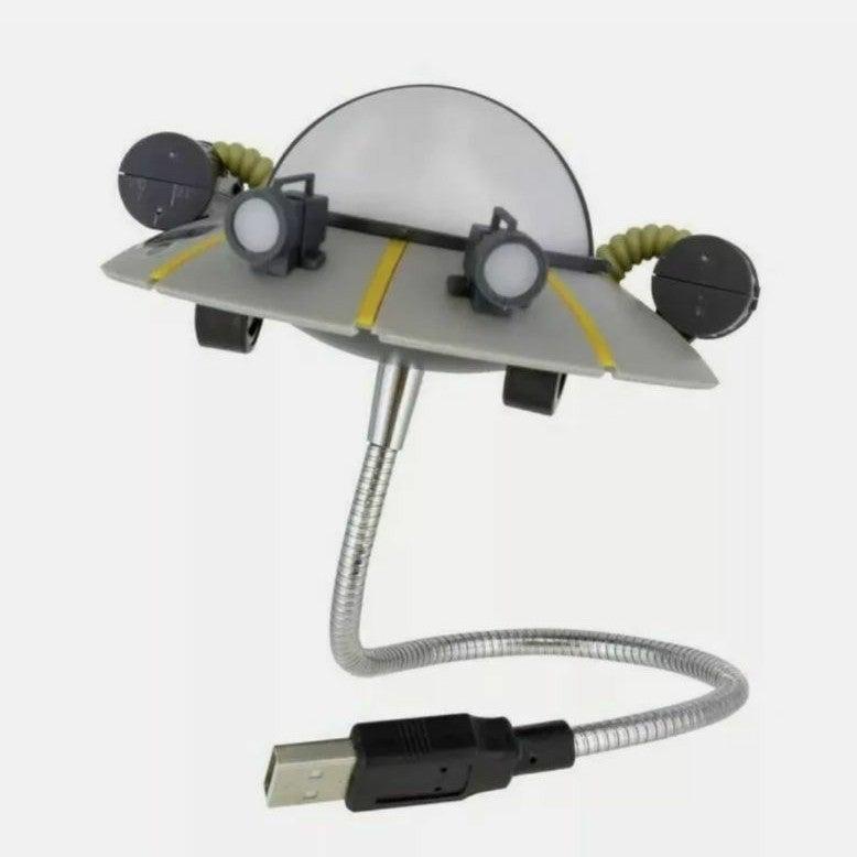 Ricks & Morty Spaceship USB Laptop Lite