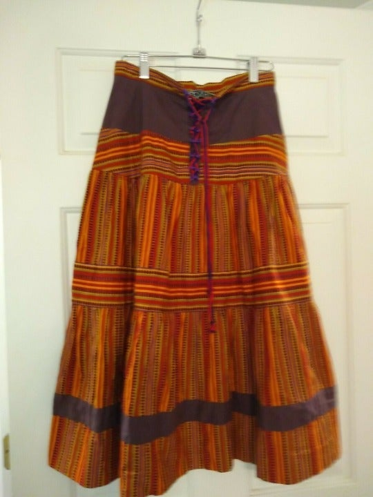 JEFF BANKS Vintage Tiered Skirt - Sz 10