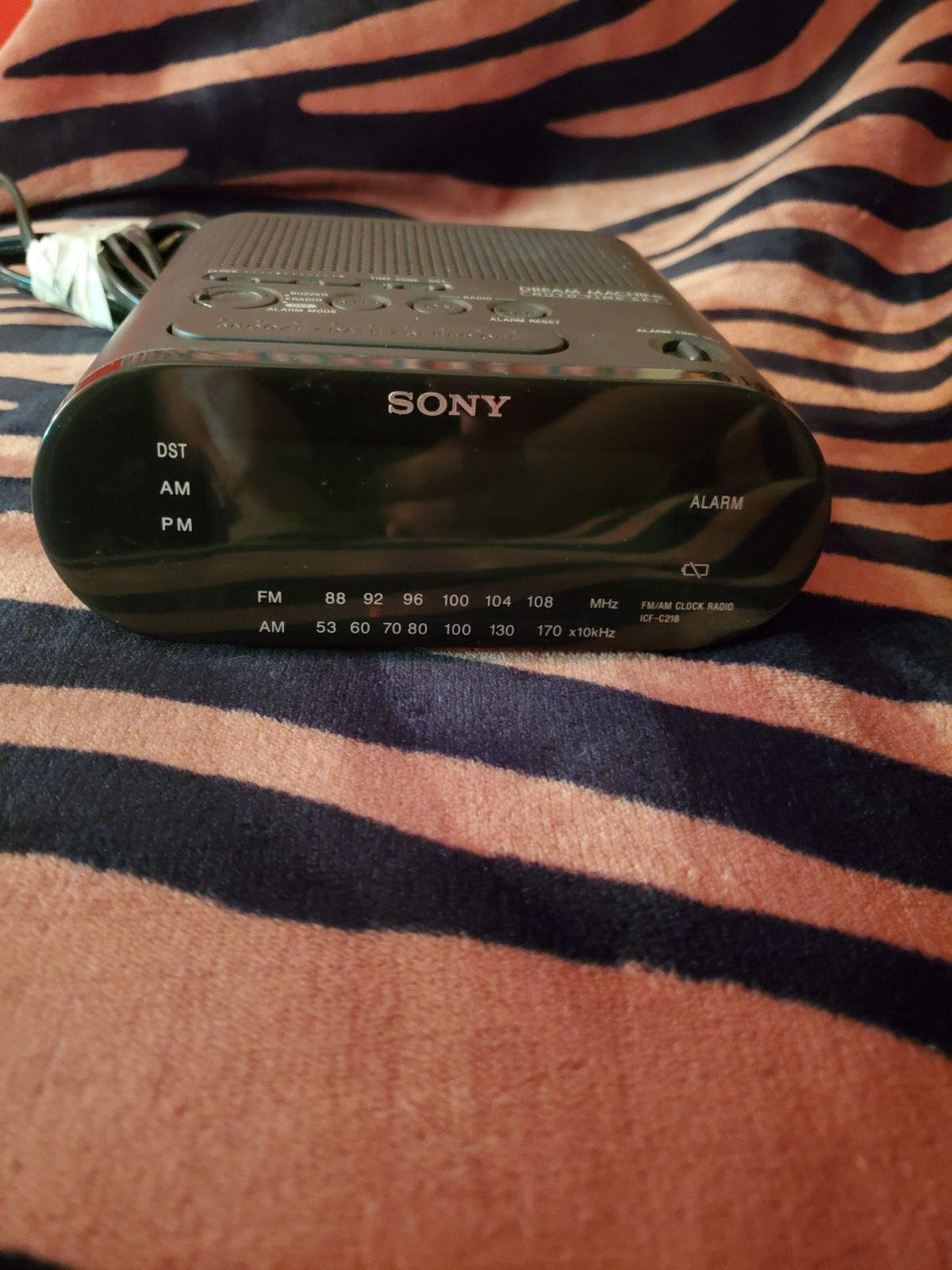 Sony Dream Machine Radio Alarm Clock