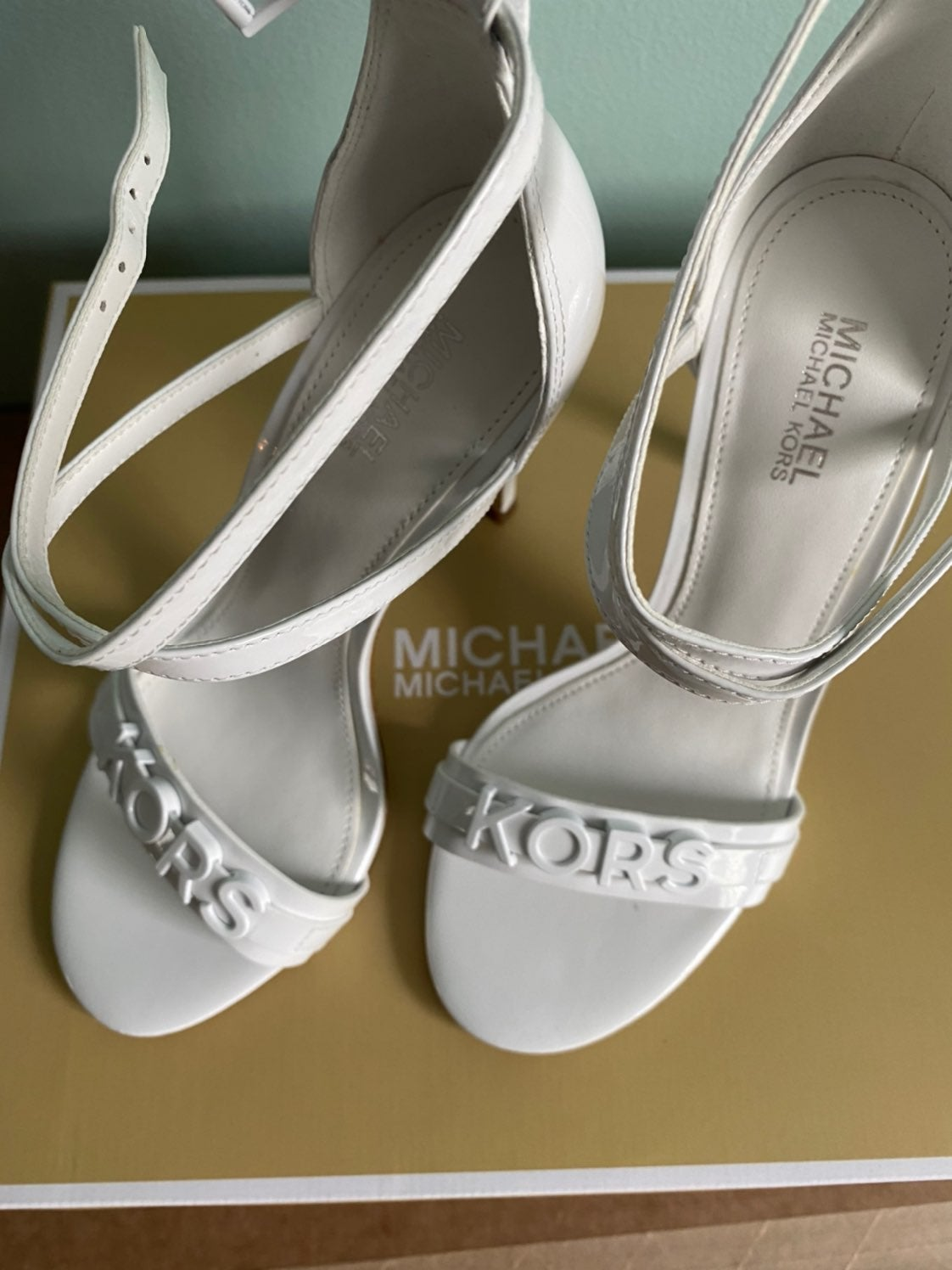 Michael Kors Authenis Open Toe Stilleto