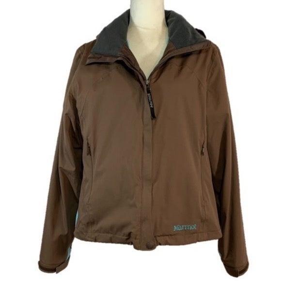 Marmot Lightweight Rain Jacket with Hood