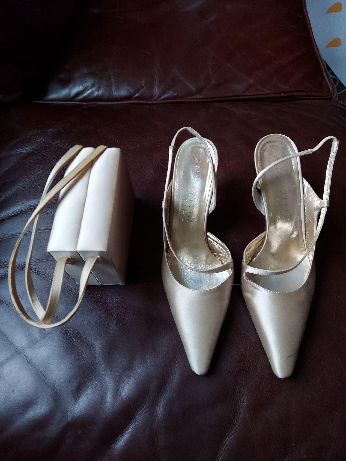 Anne Klein vintage heels & purse