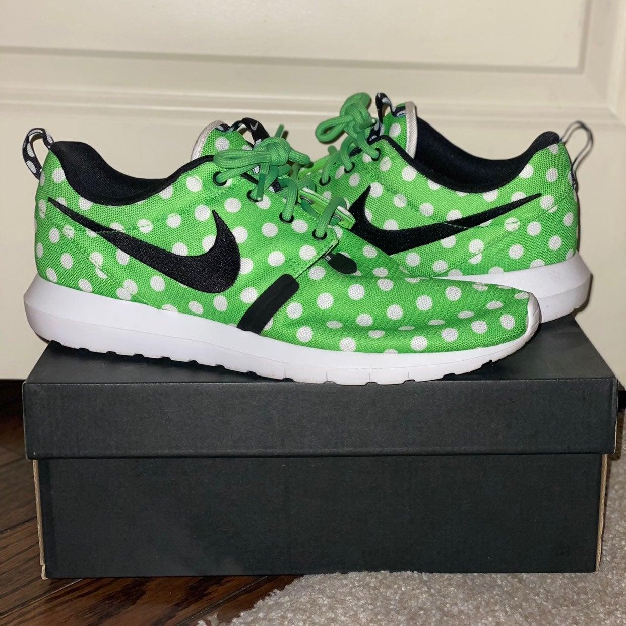 Nike Roshe Run Polka Dot Pack Green