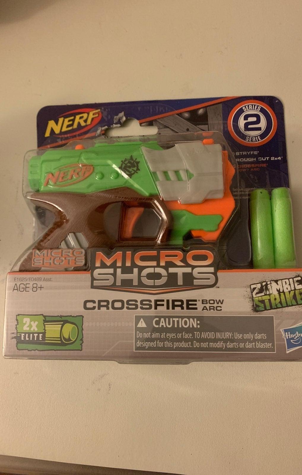 NERF CROSSFIRE BOW ARC MICRO SHOTS